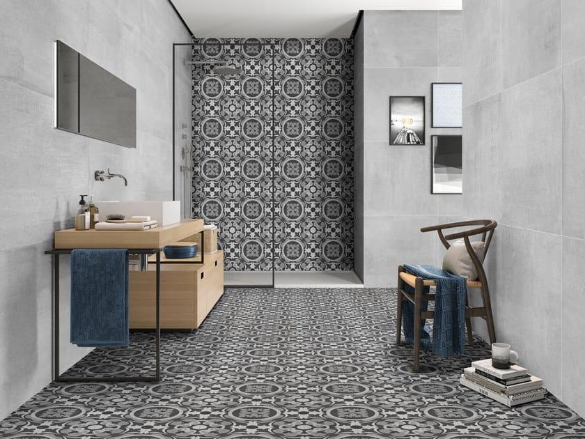 Porcelain wall/floor tiles with encaustic effect NOUVEAU by ITT Ceramic