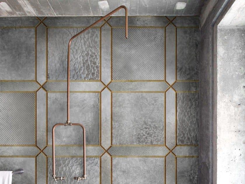 Motif geometric wallpaper NOUVEAU by Wall&decò