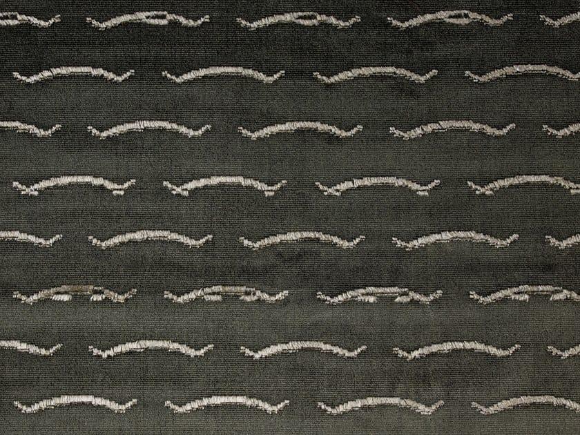 Jacquard velvet upholstery fabric NOUVELLES VAGUES by Dedar