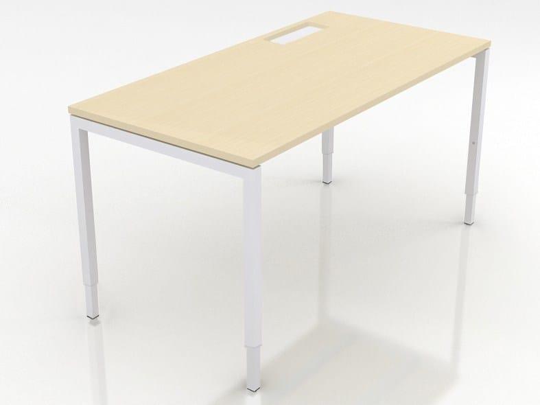 Sectional workstation desk NOVA H by NARBUTAS