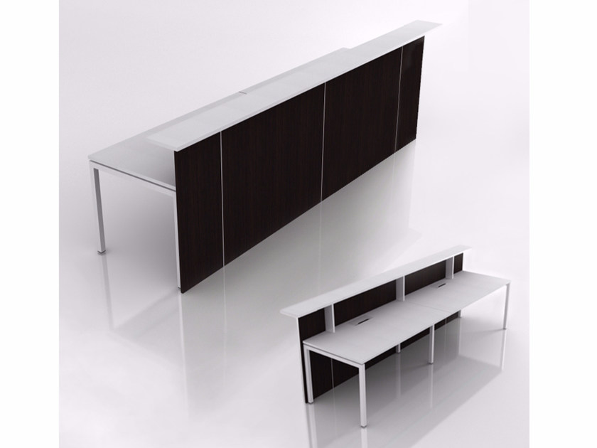 Office reception desk NOVA | Office reception desk by NARBUTAS