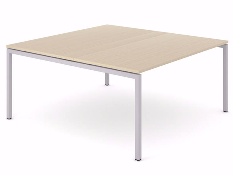 Square meeting table NOVA | Square meeting table by NARBUTAS