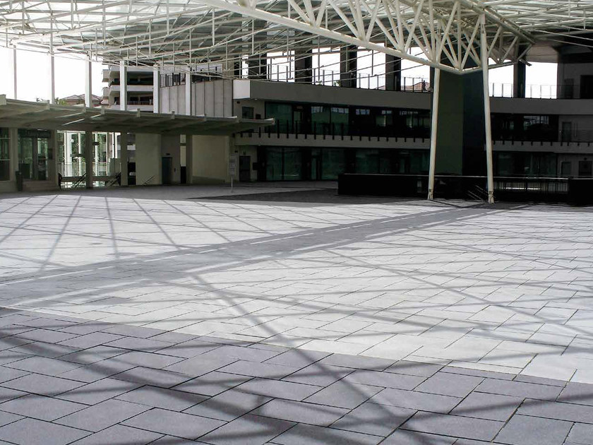 Granite outdoor floor tiles NOVARIT by RECORD - BAGATTINI