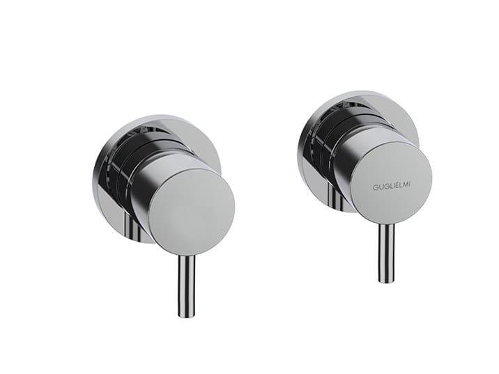 Stainless steel bathtub tap / shower tap NOVO INOX   Shower mixer by GUGLIELMI