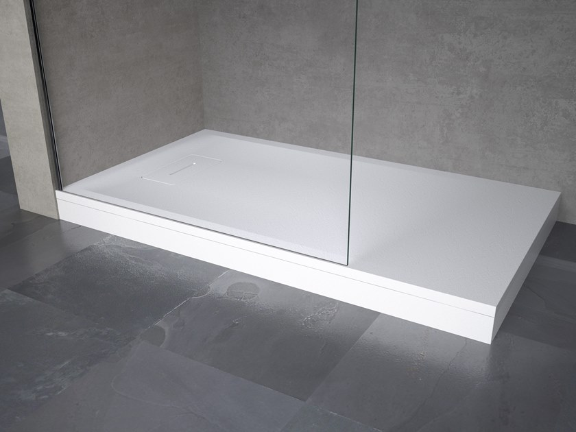 NOVOSOLID | Rectangular shower tray Novosolid Collection By NOVELLINI