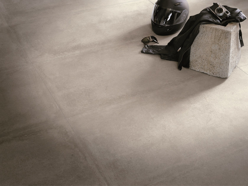 Indoor/outdoor porcelain stoneware wall/floor tiles NR. 21 GREY by Viva by Emilgroup