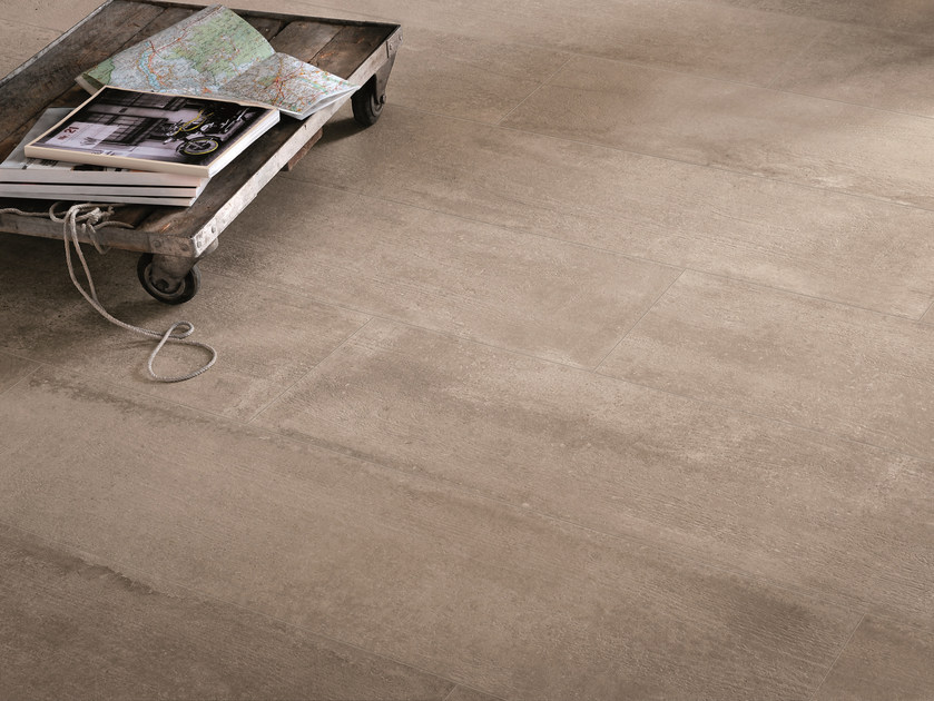Indoor/outdoor porcelain stoneware wall/floor tiles NR. 21 SAND by Viva by Emilgroup