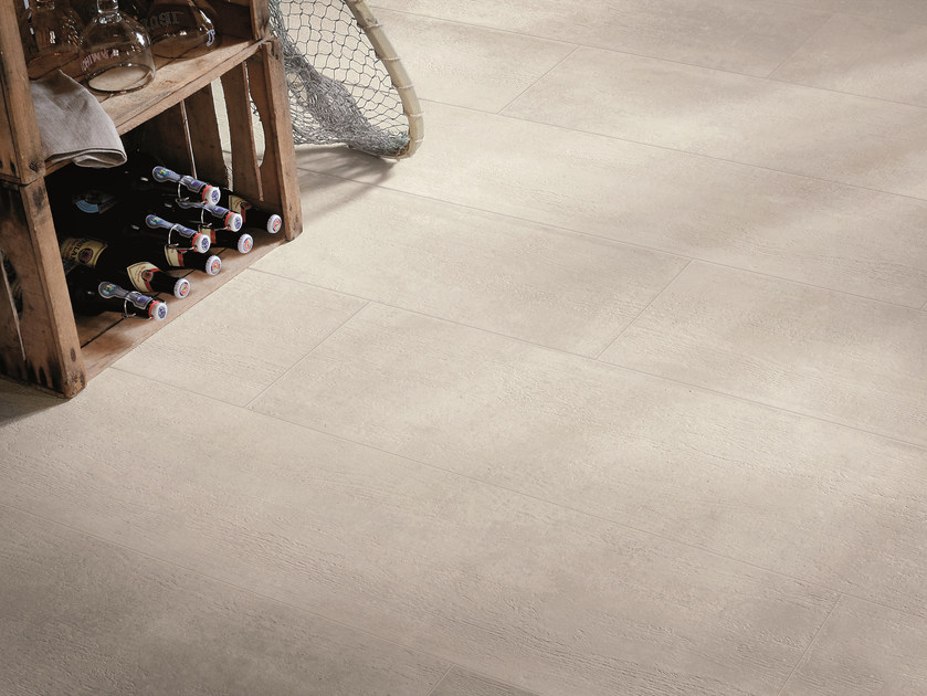Indoor/outdoor porcelain stoneware wall/floor tiles NR. 21 WHITE by Viva by Emilgroup
