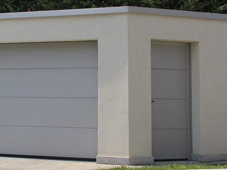 Side sectional garage door NT60 By HÖRMANN ITALIA
