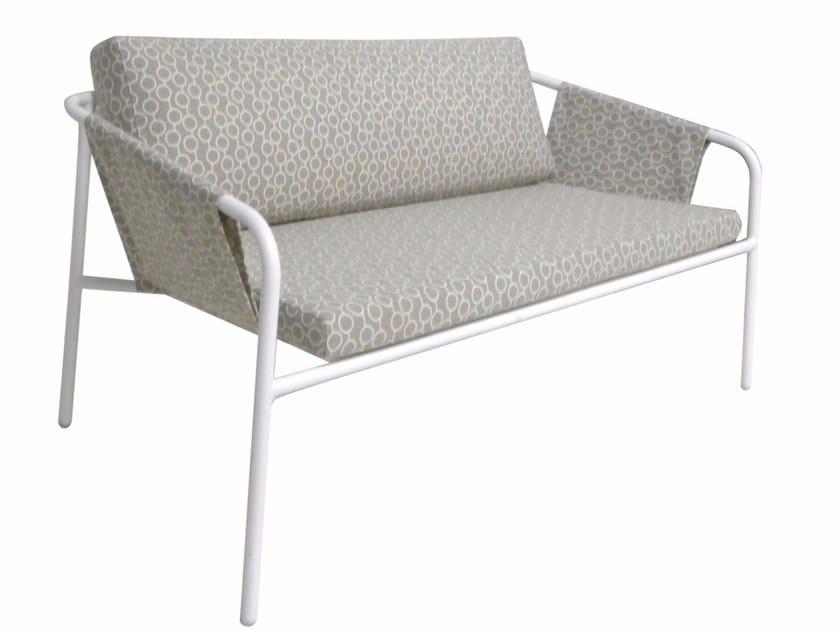 2 seater Sunbrella® garden sofa NUA VINTAGE | Garden sofa by calma