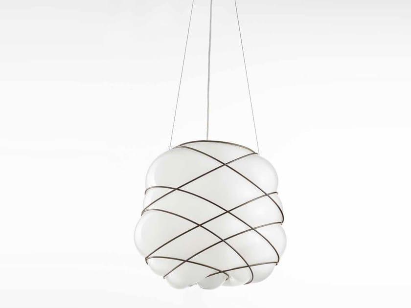Murano glass pendant lamp NUAGE MS 436 by Siru