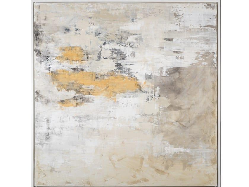 Canvas Painting Nube ocre by NOVOCUADRO ART COMPANY