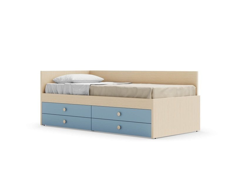 Equipped bed NUK by Nidi