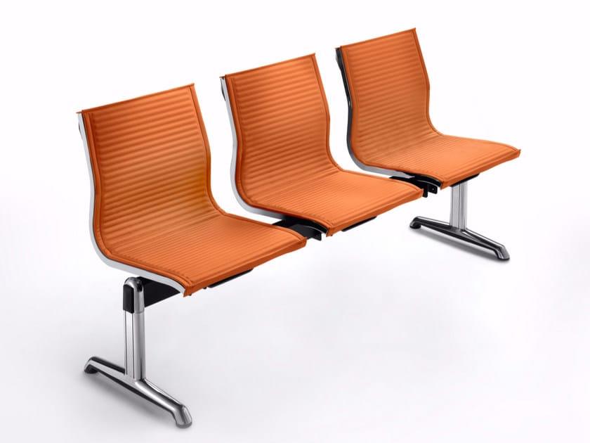 Freestanding fabric beam seating NULITE | Fabric beam seating by Luxy