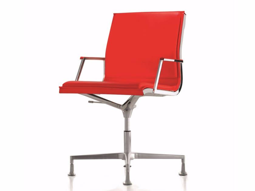 Cadeira operativa NULITE | Cadeira operativa de 4 raios by Luxy