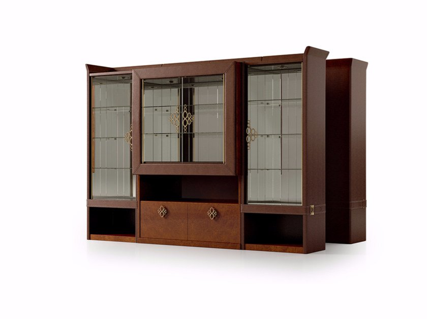Crystal display cabinet NUMERO TRE | Display cabinet by Turri