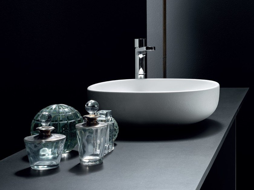 Countertop oval washbasin NUVOLA | Countertop washbasin by AZZURRA sanitari