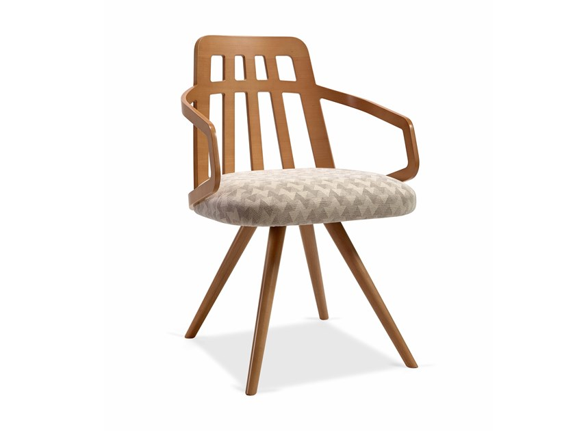 Chair with armrests NUZZLE LIRAS CB by Fenabel