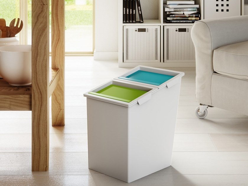 Waste bin for waste sorting NX 03 by MATTIUSSI ECOLOGIA