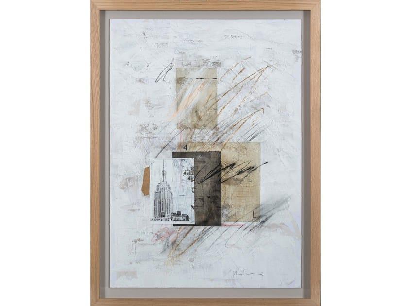 Paper Painting NYC I by NOVOCUADRO ART COMPANY