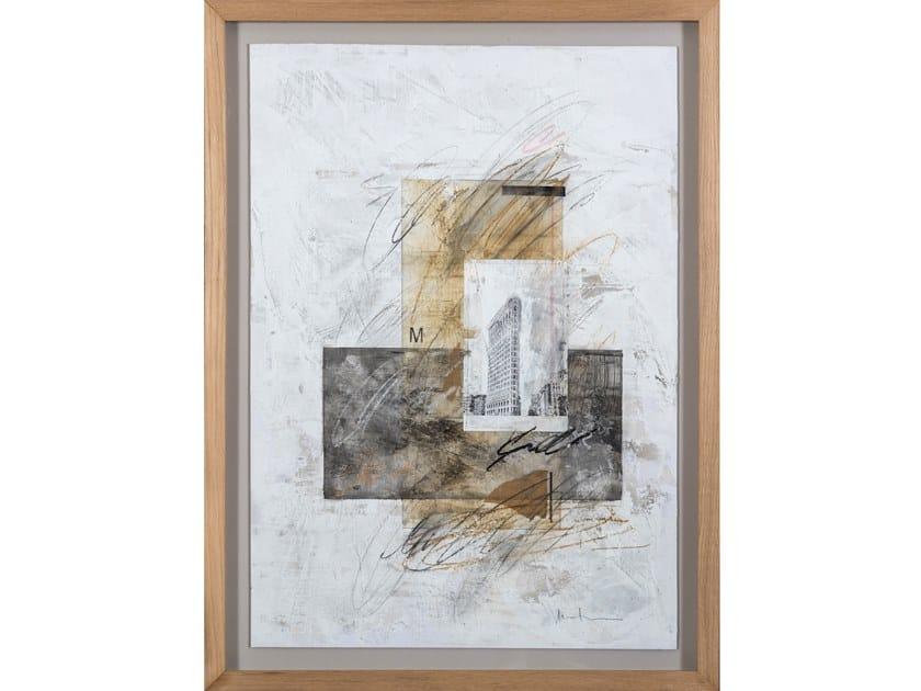 Paper Painting NYC II by NOVOCUADRO ART COMPANY