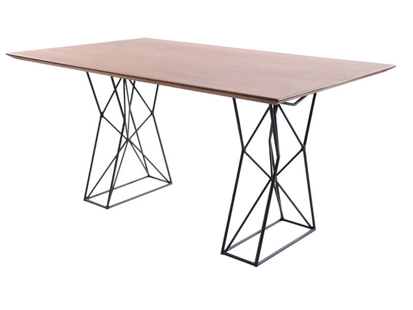 Rectangular Mango table NYOTA | Rectangular table by ALANKARAM