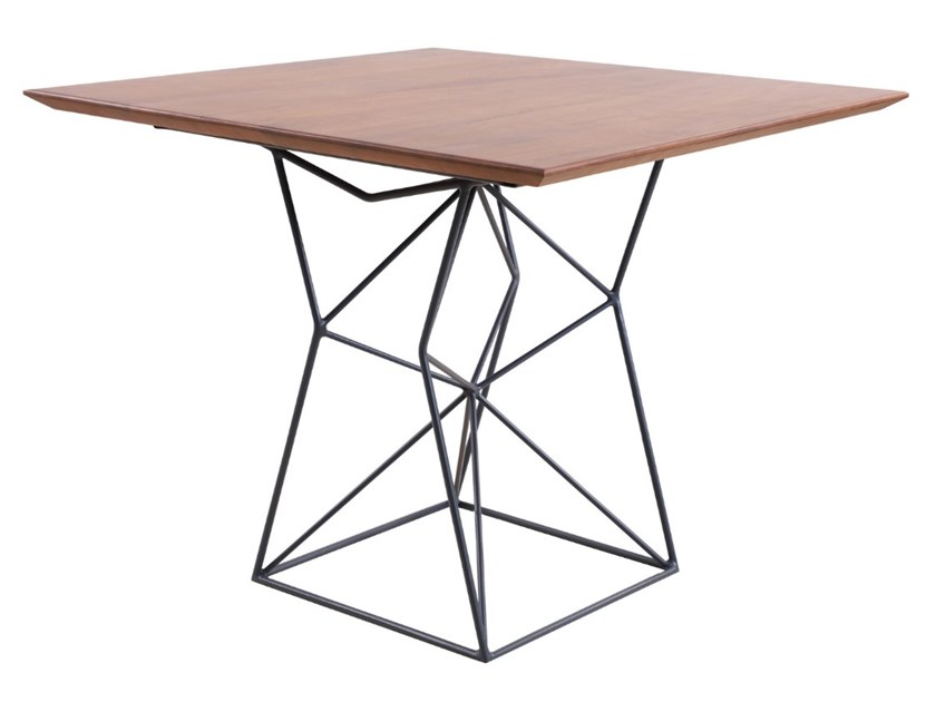 Square Mango table NYOTA | Mango table by ALANKARAM