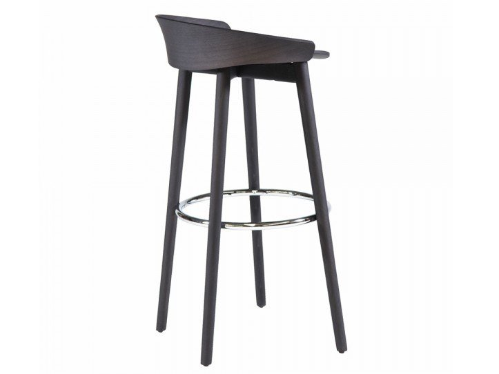 High stool with integrated cushion NIX 239P by Capdell