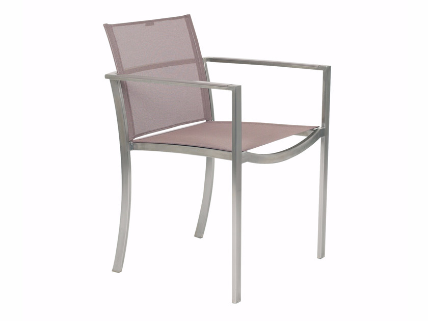 Batyline® garden chair with armrests O-ZON | Chair with armrests by ROYAL BOTANIA