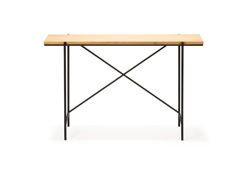Rectangular oak console table OAK RISE | Console table by Ethnicraft