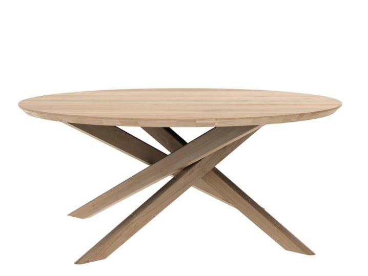 OAK MIKADO | Tavolino rotondo 50542