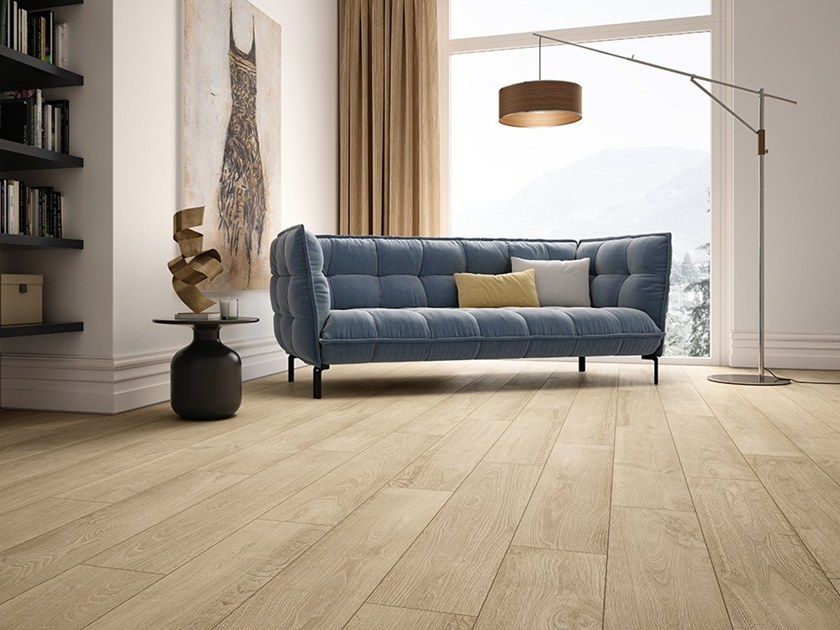 Porcelain stoneware flooring with wood effect OAKEN by Ceramica Fioranese
