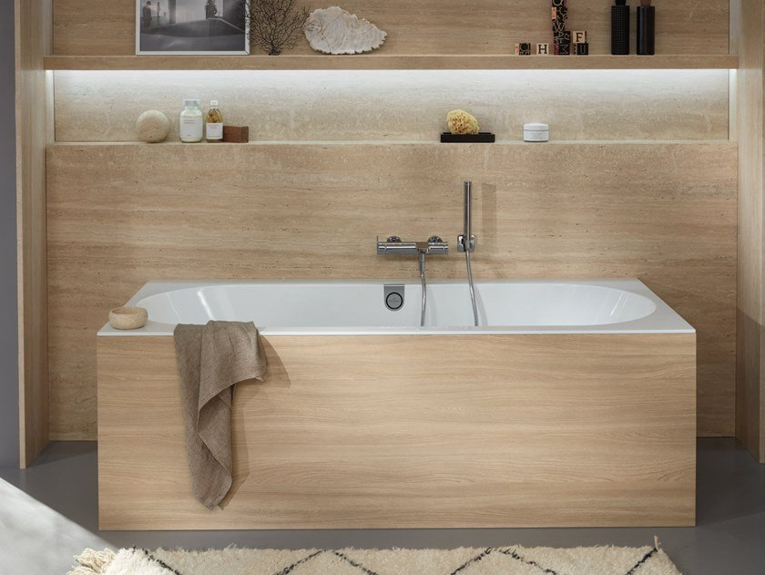 Vasca da incasso in quaryl® oberon 2.0 vasca da bagno da incasso