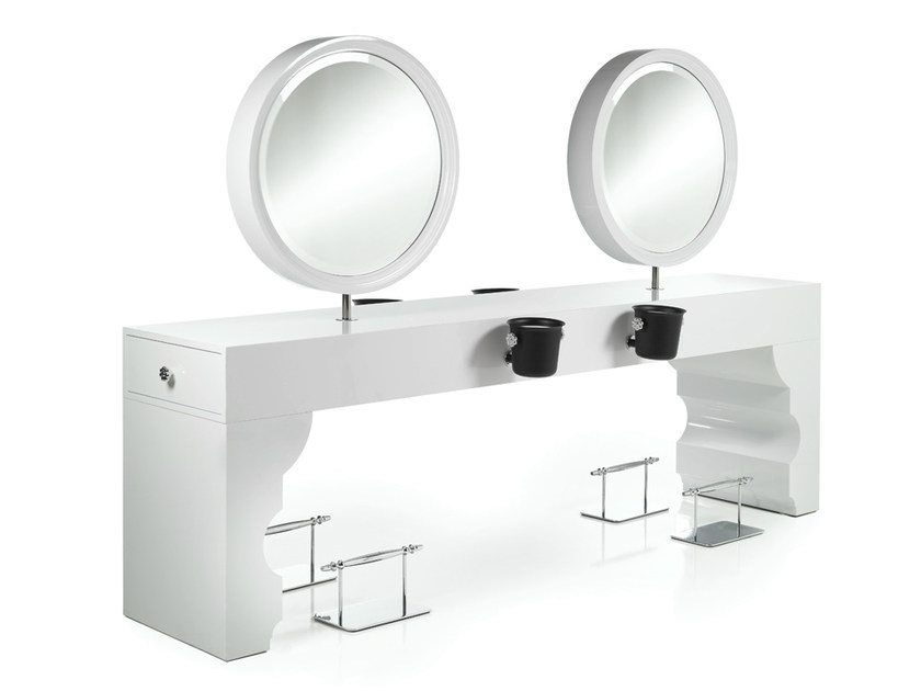 Workstation for hairdresser OBERTO by Gamma & Bross