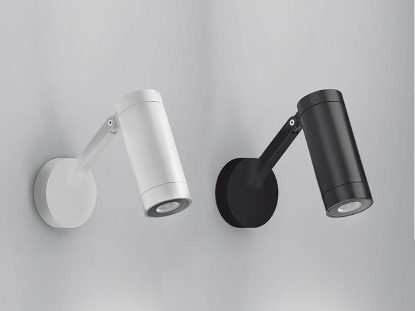Lampada da parete a LED a luce diretta in alluminio OBICE by Artemide