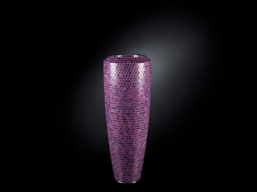 LDPE vase OBICE SMALL MOSAICO BISAZZA by VGnewtrend