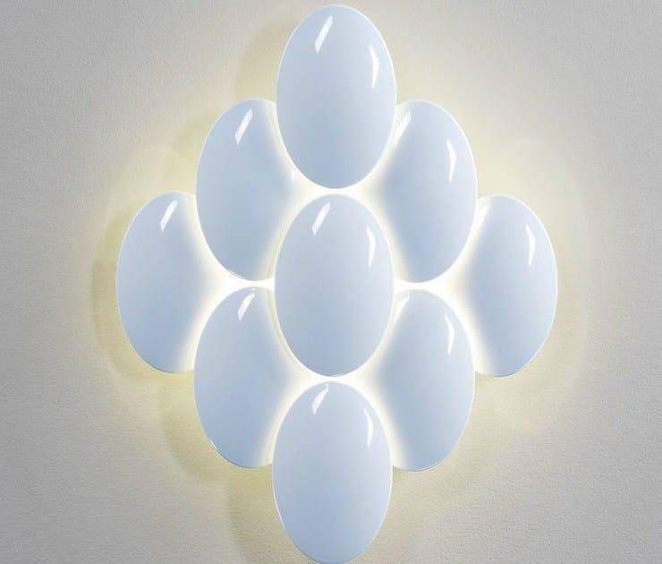 6488 Iluminacion Applique Led Obolo A Luce Indiretta Milan ARL45j