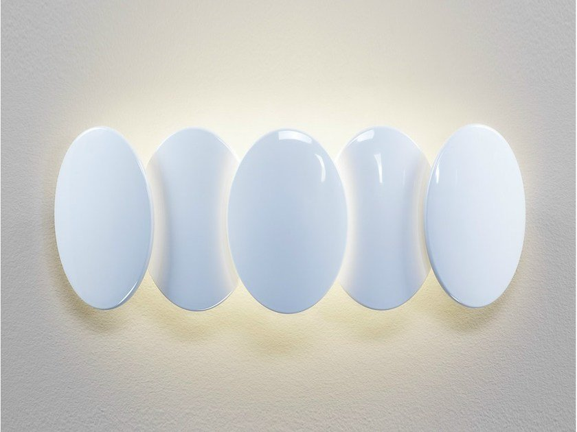 LED indirect light wall light OBOLO 6487 by Milan Iluminacion