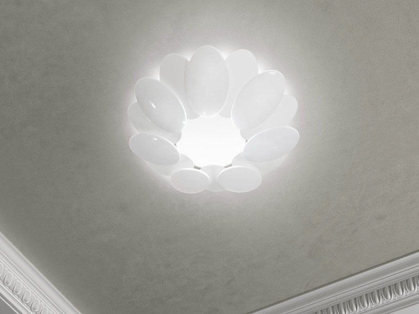 LED ceiling light with dimmer OBOLO 6491 by Milan Iluminacion