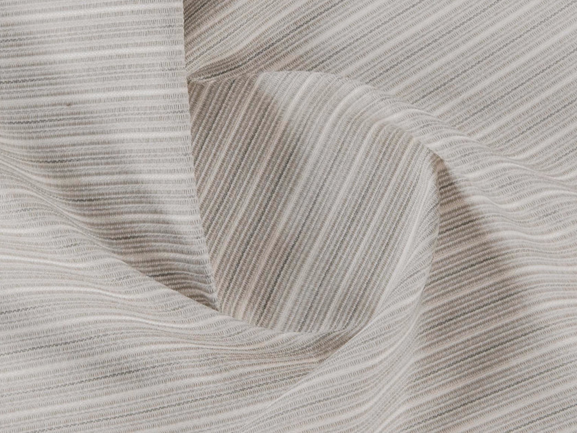 Striped washable polyester upholstery fabric MIUCCIA by More Fabrics