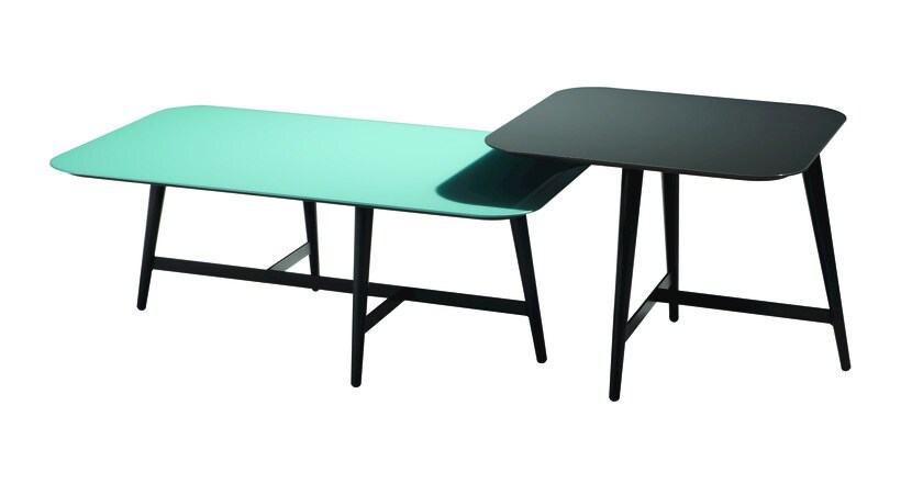 Lacquered modular square coffee table OCTET by ROCHE BOBOIS