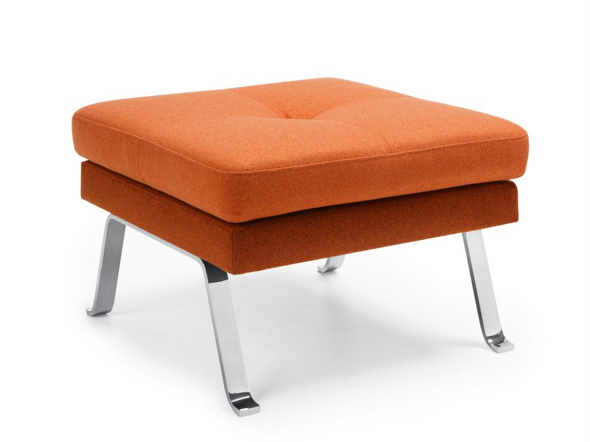 Fabric footstool OCTOBER 10 by profim