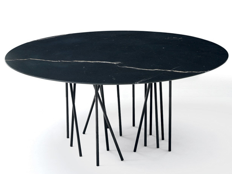 Round marble table OCTOPUS | Table by arflex