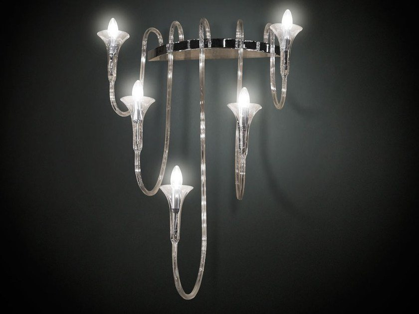 Glass wall light OCTOPUS | Wall light by VGnewtrend