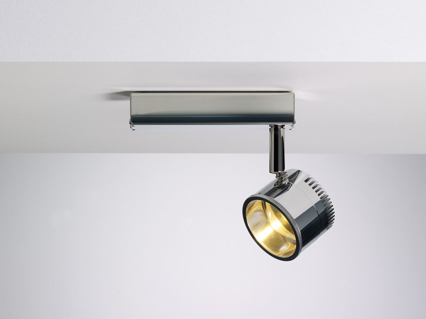 LED adjustable spotlight OCULAR SPOT 1 ZOOM by LICHT IM RAUM