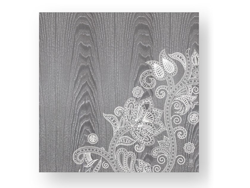 Wooden Decorative panel ODALISQUE COLD by LIGNIS®