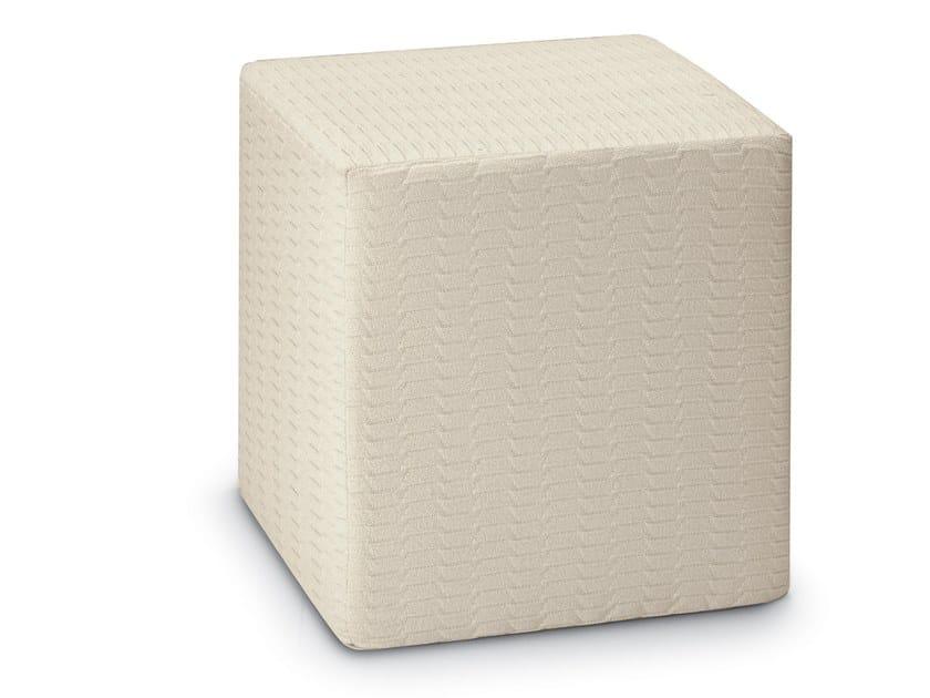 Cube pouf in jacquard Trevira CS ODEN | Pouf by MissoniHome