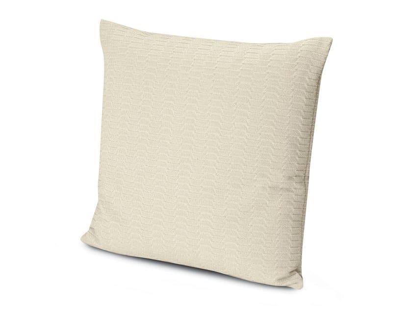 Cushion in jacquard Trevira CS ODEN | Cushion by MissoniHome