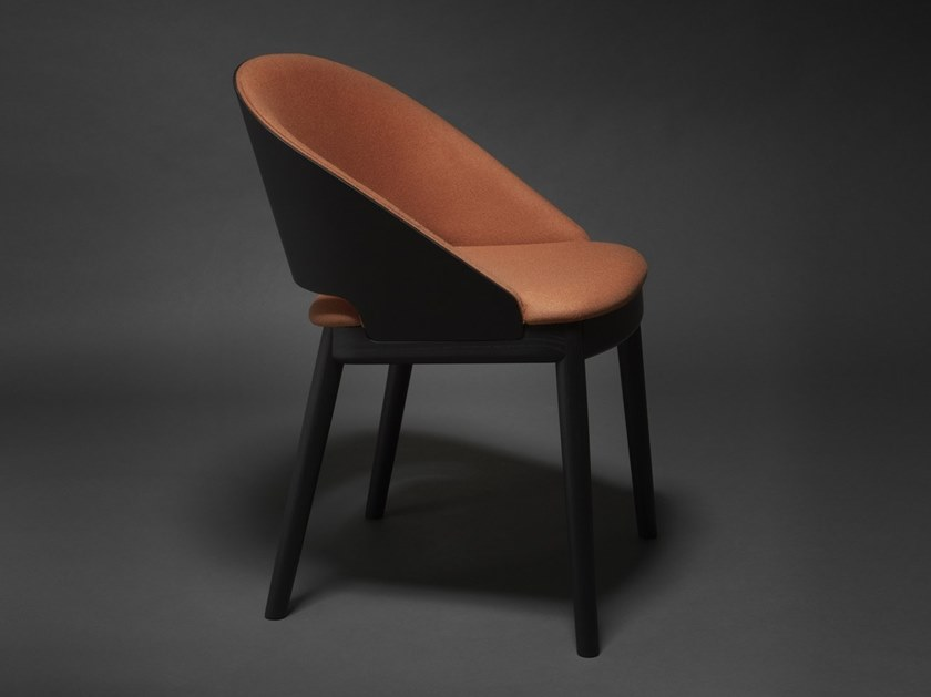 Fabric easy chair ODEON 01 by Very Wood