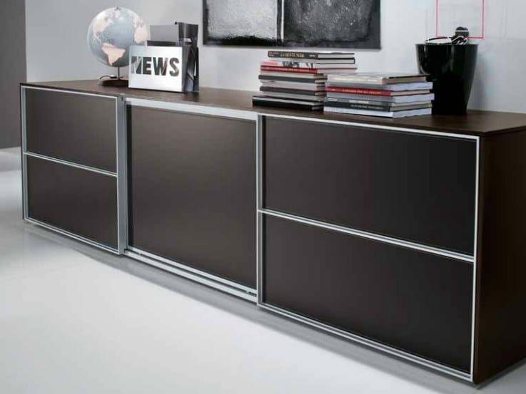 Low office storage unit ODEON | Low office storage unit by Castellani.it